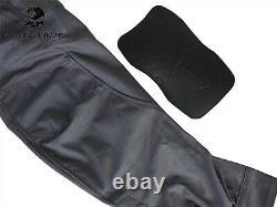Emerson Assault Combat Shirt Pants Suit Airsoft Tactical bdu Uniform Wolf Grey