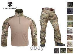 Emerson Assault Gen3 Combat Shirt Pants Suit Airsoft Tactical bdu Uniform