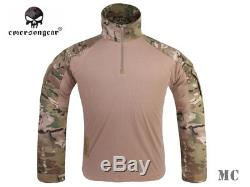 Emerson Assault Shirt Pants Tactical Military Combat Gen3 Uniform with Knee Pads