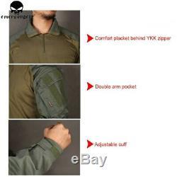 Emerson BDU G3 Combat Uniform Set Shirt Pants Tactical Suit Airsoft GEN3 Clothes