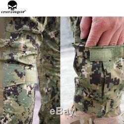 Emerson Combat Gen2 Tactical Suit shirt Pants with Knee Pads Airsoft BDU Uniform
