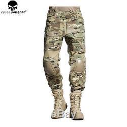 Emerson G2 Combat Shirt & Pants with Elbow & Knee Pads Tactical BDU Uniform Set