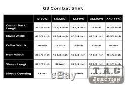 Emerson G3 BDU Combat Uniform Set Shirt & Pants Knee Pads Tactical GEN3 Hunting