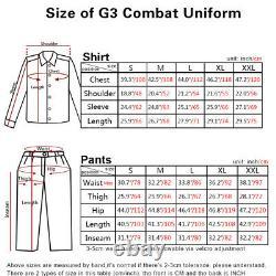 Emerson G3 Combat Shirt Pants Suit Airsoft Tactical bdu Uniform Wolf Grey