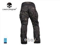 Emerson G3 Combat Shirt Pants Suit Military Tactical bdu Uniform Multicam Black