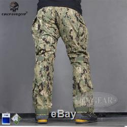 Emerson G3 Combat Uniform Camo BDU Shirt & Pants Military Airsoft Hunting AOR2
