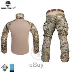 Emerson G3 Combat Uniform Shirt & Pants Military Airsoft Gen3 MultiCam Clothing