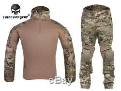 Emerson Gen2 BDU Combat Shirt Pants with elbow knee pads Tactical Gear Uniform