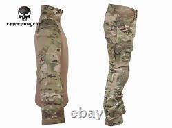 Emerson Gen2 Combat Shirt Pants Suit Airsoft Tactical Military bdu Uniform