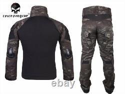Emerson Gen2 Combat Shirt Pants Suit Military Airsoft Tactical bdu Uniform