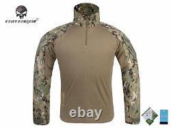 Emerson Gen3 Combat Shirt Pants Suit Airsoft Military Tactical bdu Uniform Aor2