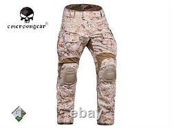 Emerson Gen3 Combat Shirt Pants Suit Airsoft Tactical bdu Uniform AOR1