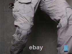 Emerson Gen3 Combat Shirt Pants Suit Airsoft Tactical bdu Uniform Wolf Grey