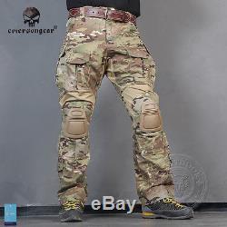 Emerson Gen3 Combat Uniform Shirt & Pants Military Airsoft G3 MultiCam Clothing