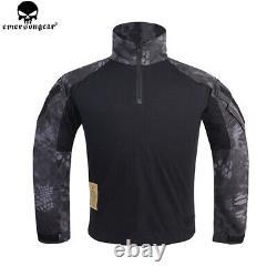 Emerson Men Military Camo Tactical Combat Uniform G3 Suit Shirt & Pants Set bdu