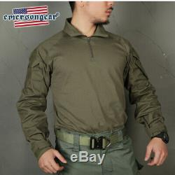 Emerson Ranger Green G3 Combat Tactical Shirt&Pants Mens BDU Military Uniform