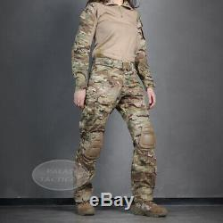 Emerson Women G3 Combat Uniform Multicam Gen3 BDU Shirt & Pants with Knee Pad