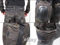 Emerson combat set Shirt&Pants with elbow knee pads Water-resistant Uniform
