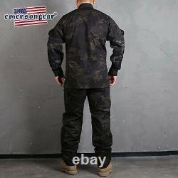 Emersongear Combat R6 Uniform Shirt Pants Suit Field bdu Assault Uniform