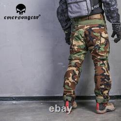 Emersongear Tactical G3 Shirts Pants Combat Uniform Mens Outdoor Training Sets