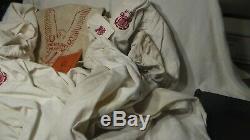 Estate World War 2 Merchant Marine Uniform Lot Shirts Pants Hats Sea Bag Books