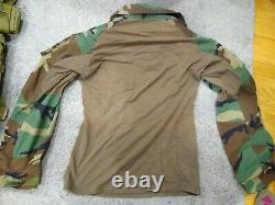 FFI G3 Combat Shirt M81 Woodland MR Crye Precision & USGI BDU pants LR