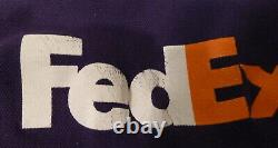 FedEx Men's XL Uniform 9 Piece Lot Used Jackets Shirts Pants Hat Safe-T-Lift