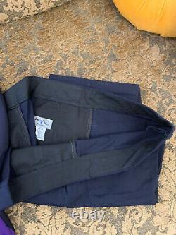 Fedex Ground Uniform Coat Vest Long Sleeve Shirt Pants Beanie Hat 38 34 L XL