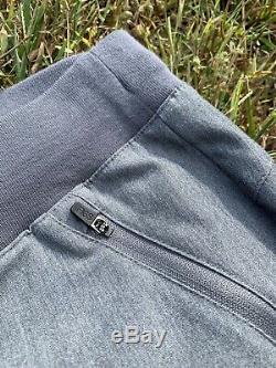 Figs Gray Limited Edition Watama Long Sleeve Shirt Esteli Moto Jogger Pants XS/S