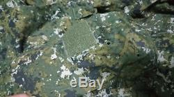 Free shipping. Taiwan Army Digital Camo. Pant and shirt Large + Hat
