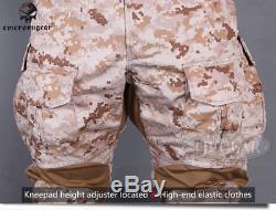 G3 Combat Uniform Emerson Shirt & Pants Military Airsoft Hunting AOR1 Camo BDU