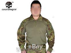 G3 Combat Uniform Emerson Shirt & Pants Military Airsoft Hunting GreenZone BDU