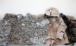 GENUINE US Military Camo Desert Digital GORETEX Coat Pants Shirt Large Medium ML