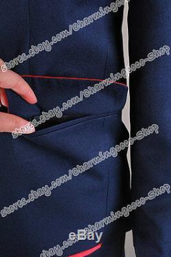 Glee Cosplay Blaine Anderson Costume Uniform Coat+Shirt+Pants+Tie High Quality
