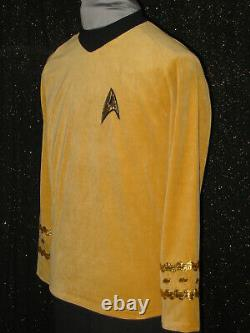 HALLOWEEN Custom-Made SHIRT & PANTS Five Star TREK COSTUMES Uniform ANYSIZE