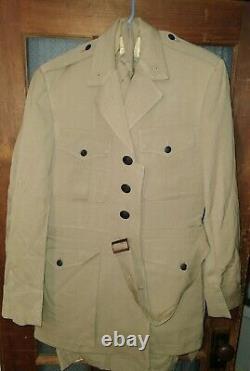 HUGE VIETNAM Era Lot of Uniform Pants Shirts USMC Dated 1964