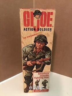 Hasbro 1964 GI Joe ACTION SOLDIER with Double TM Original 7500 Box dated 10-64