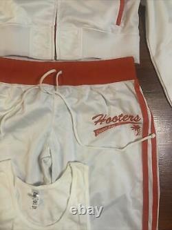 Hooters official Uniform Pants And Jacket Las Vegas Large plus shirt California