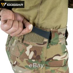 IDOGEAR G4 Combat Uniform Shirt & Pants Tactical BDU with pads Hunting Military