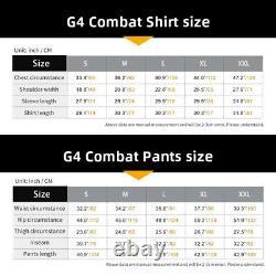 IDOGEAR G4 Combat Uniform Shirt & Pants Tactical BDU with pads Hunting Military