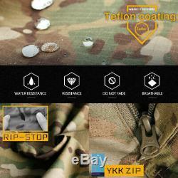 IDOGEAR Mens Military Tactical G3 Combat Suit Shirt Pants BDU Uniform Camouflage