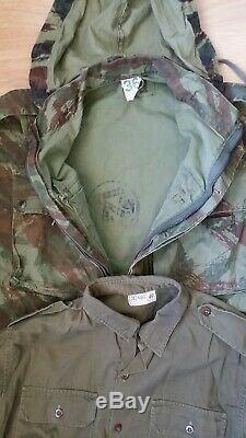 Idf Israeli Zahal Israel Six Days War Para Camo Lizard Tap 47/56 Shirt Pants