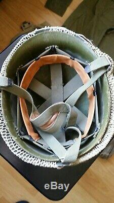 Idf Israeli Zahal Israel Yom Kippur 1973 War M1 Para Helmet Webbing Shirt Pants