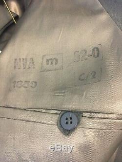 Incredible Complete East German Uniform Cap Jaclet 52 Pants 48 With Shirt H6