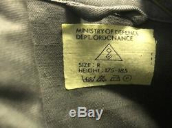 Iraqi Winter Issue OD Uniform Shirt & Pants Nos Gas Mask Bag Arabic Writing