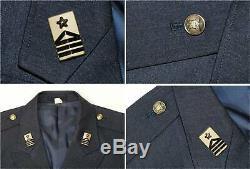 JASDF Japan Air Self-Defense Force Uniform Jacket Pants Shirt Rank Badge Signed