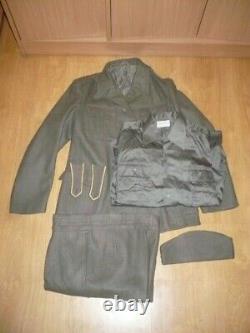 JNA Yugoslavian army uniform M55 choja pants, blouse, shirt and titohat