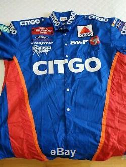 Jeff Burton Winston Cup Series Citgo Pit Crew Uniform Shirt & Pants