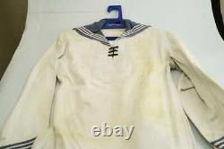 Kriegsmarine white shirt, pants WW2 (original) THERE ARE NO ILLEGAL CHARACTERS