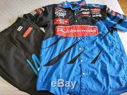 Kurt Busch Winston Cup Series Rubbermaid Pit Crew Uniform Shirt & Pants